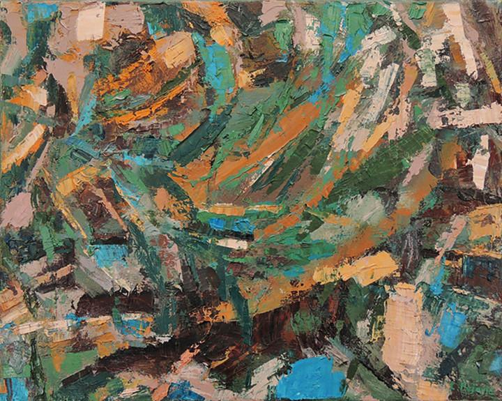 Kaleidoscope (16x20, oil; 2013)