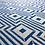 Thumbnail: maze-geometric-fabric-cobalt