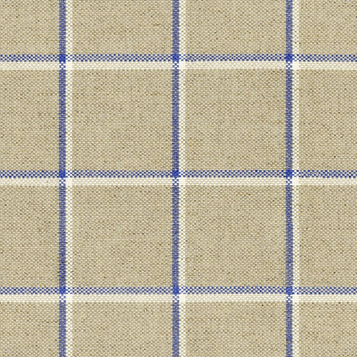 Skye Check Fabric - Indigo.png