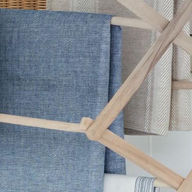 Hayle Textured Weave Fabric - Cobalt(1).
