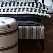 Galloway Stripe Fabric - Dark Navy(1).pn