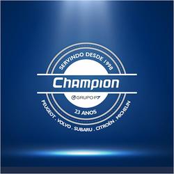 Logo 23 Anos - Champion - Grupo P7