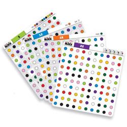 colour block content cards