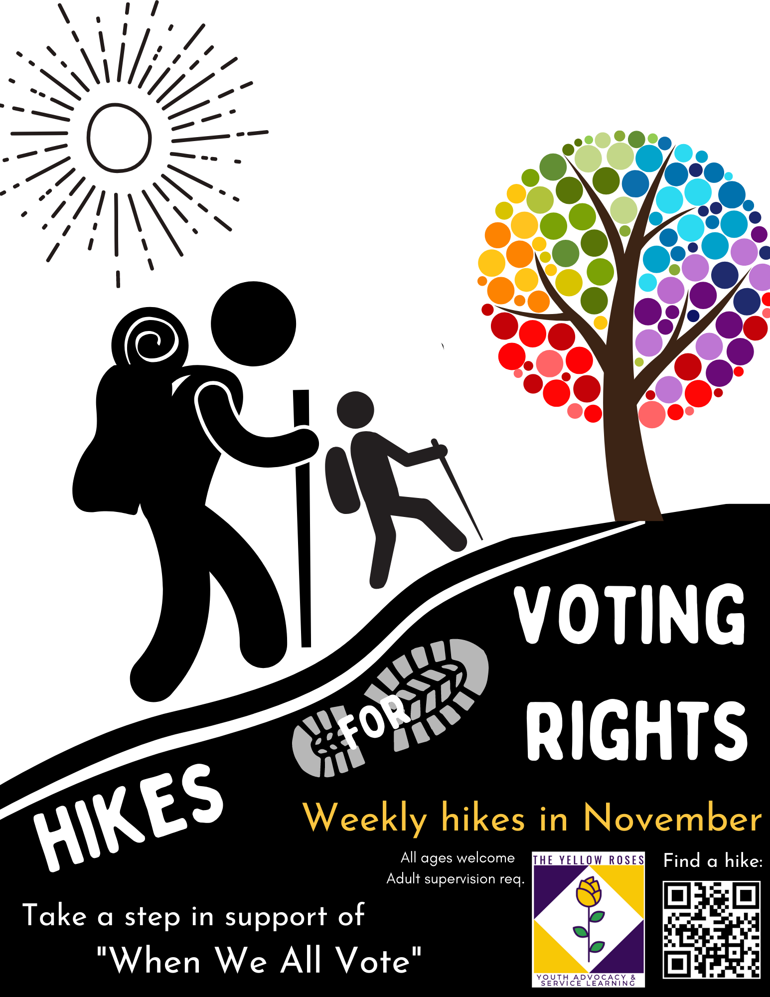Hikes for Voting Rights