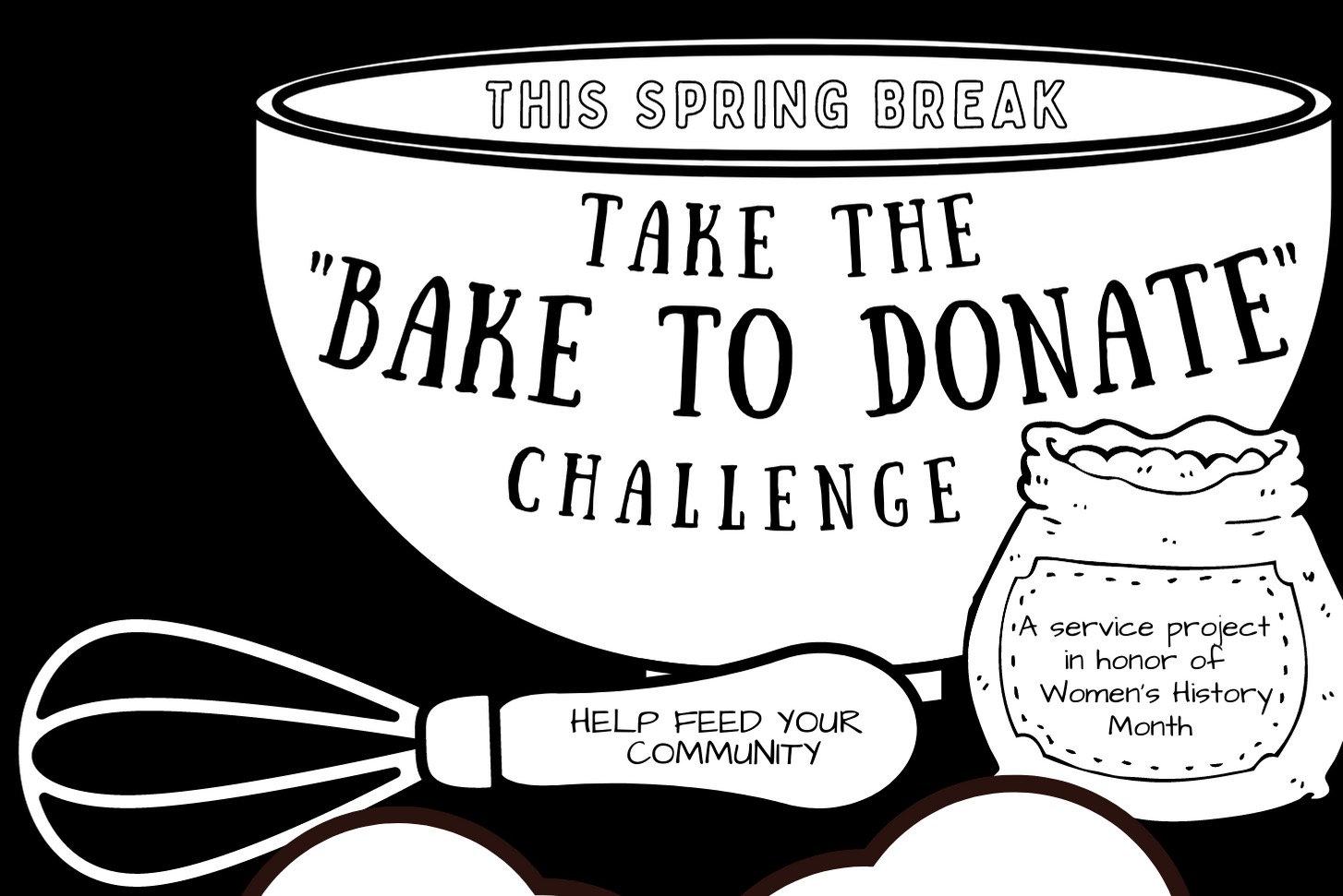 Spring Bake to Donate