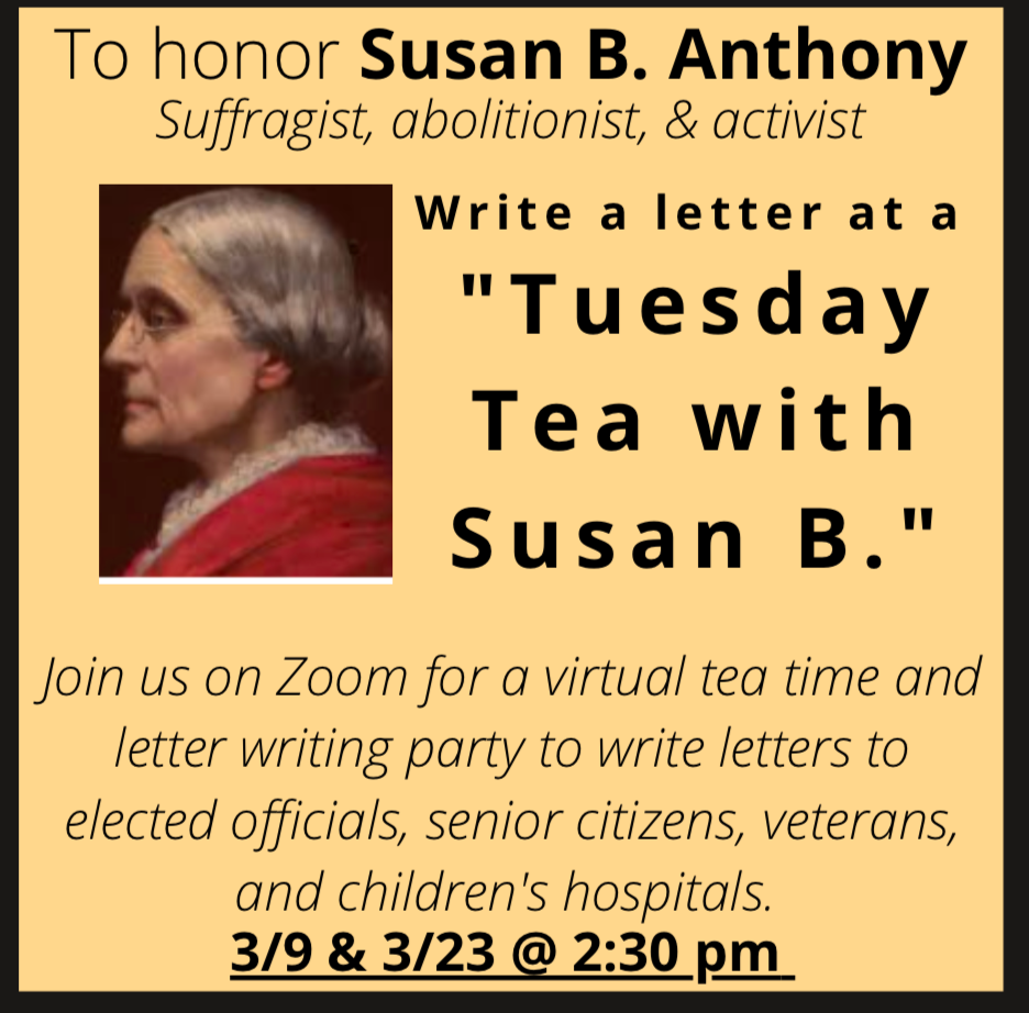 Tuesday Tea With Susan B.