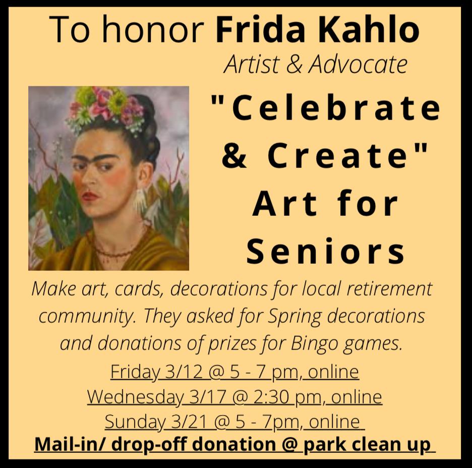 Celebrate and Create Art for Seniors