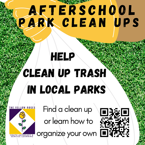 After school Park Clean Ups