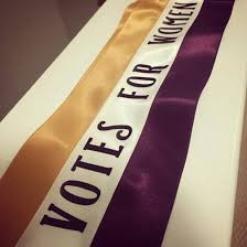 What are the colors of the suffrage movement?