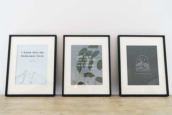 Wisdom Book Prints Set 3