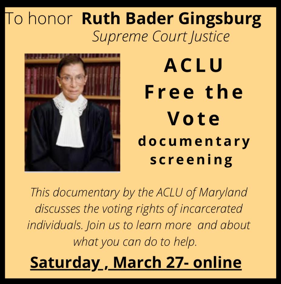 "ACLU ""Free the Vote"" documentary"