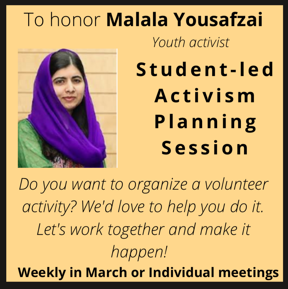 Student-Led Activisim Planning Session