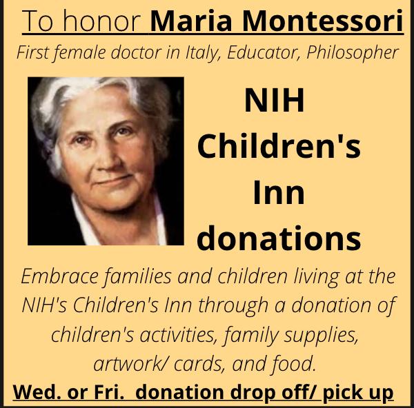 NIH Children's Inn Donations