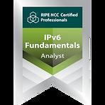 Morris Görke ist u.a. RIPE IPv6 zertifizirt, RIPE Zertifikat IPv6 Logo