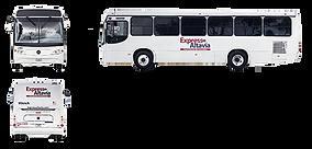 Camión Torino OH Monterrey Express Altavía Transporte de Personal