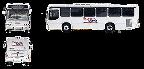 Camión Torino OMC Monterrey Express Altavía Transporte de Personal