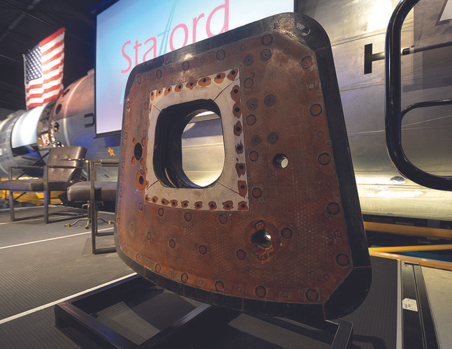 Apollo 10 Main Hatch