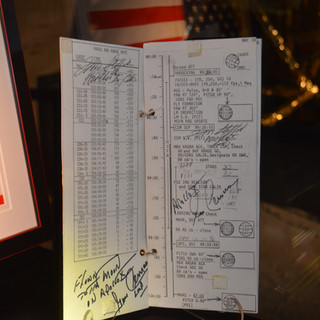 Flown Apollo 10 Checklist