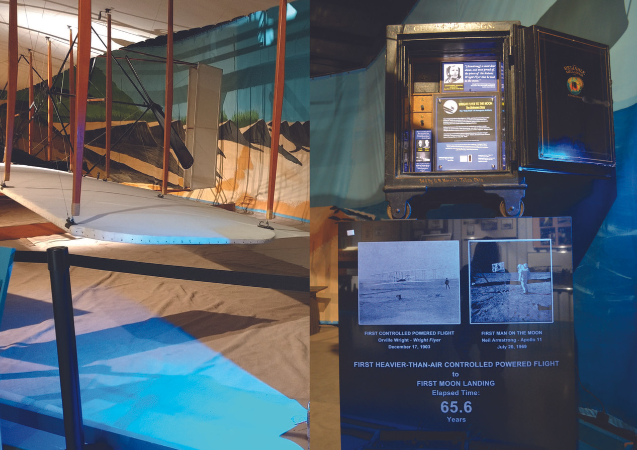 Wright Flyer to the Moon