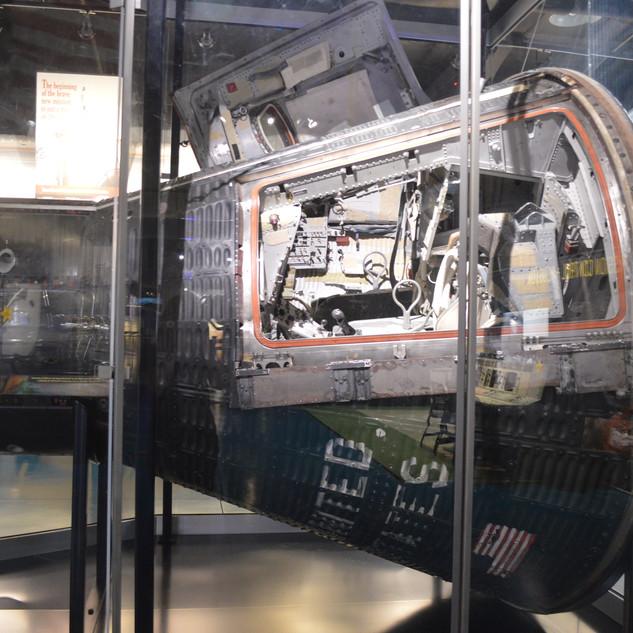 Flown Gemini VI Spacecraft