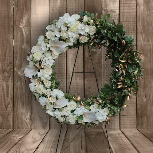 Pure Elegance Wreath