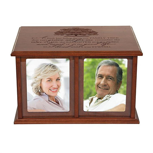 The Good Life Companion Photo Urn