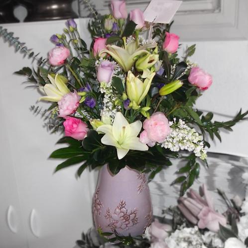 Angelic Memories Vase Tribute
