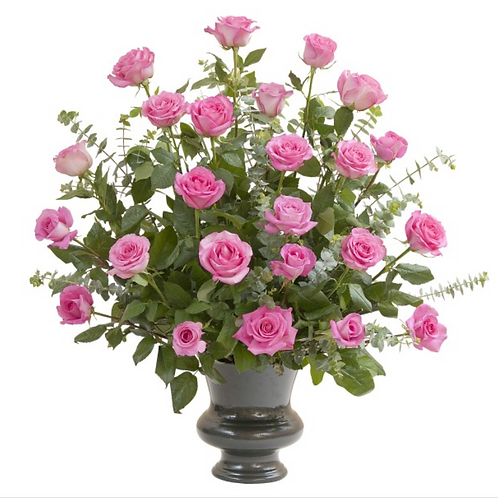 Pink Rose Supreme Large Urn