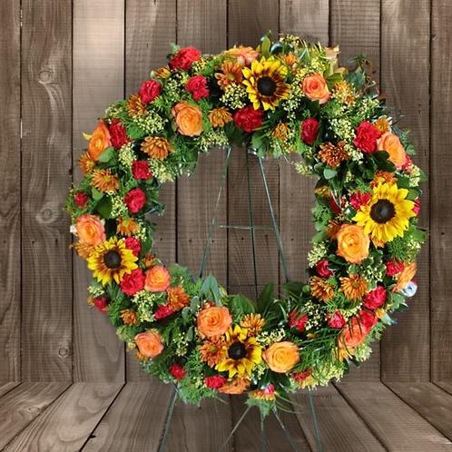 Tropical Oasis Wreath