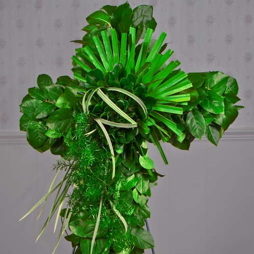 Green Elegance Cross As Pictured