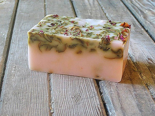 A Bar of Rose Soap