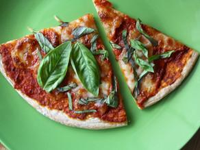 Pizza - using Pita Bread or a Tortilla!