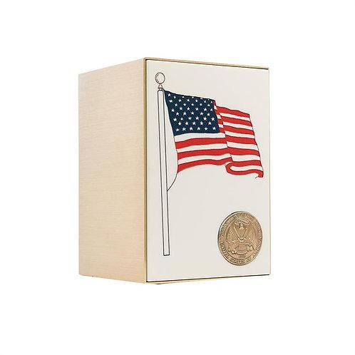 Flag Panel Bronze Sheet