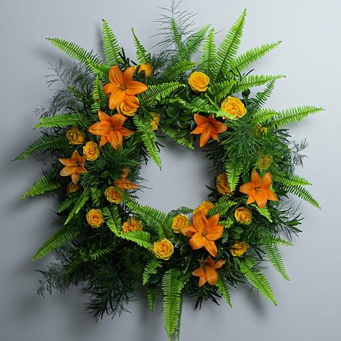Deluxe - Birds of Solace Sympathy Wreath