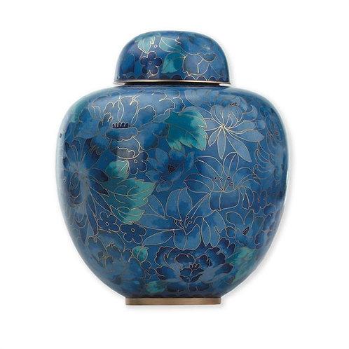 Blue Sapphire Cloisonne