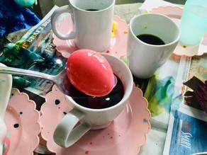 Easy Easter Egg Dyeing