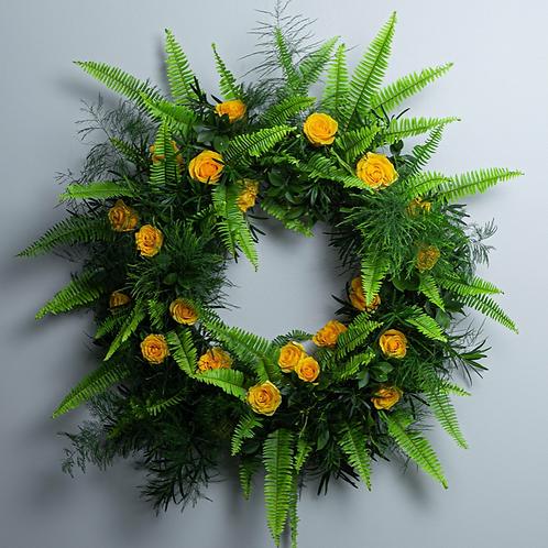 Birds of Solace Sympathy Wreath
