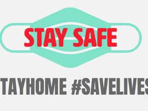 #stayhome #savelives #supportbusinesses