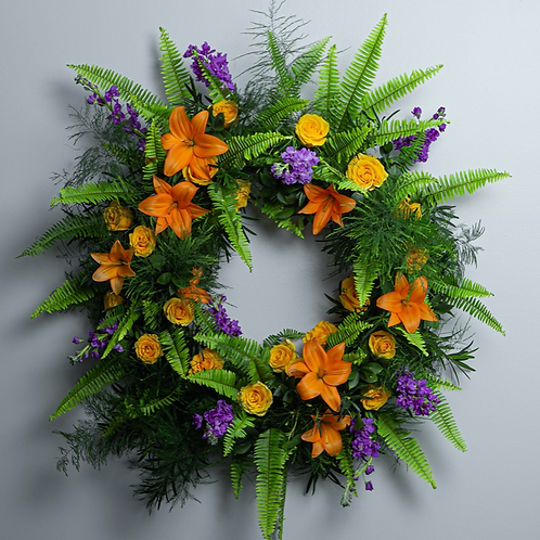 Premium - Birds of Solace Sympathy Wreath
