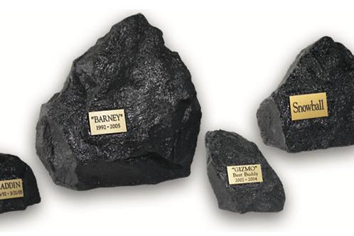 Black Rock Urns