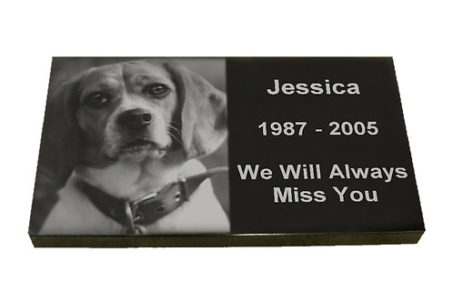 Laser Etched Burial Marker - X Large