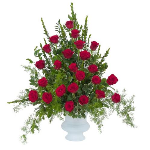 Royal Rose Urn Deluxe
