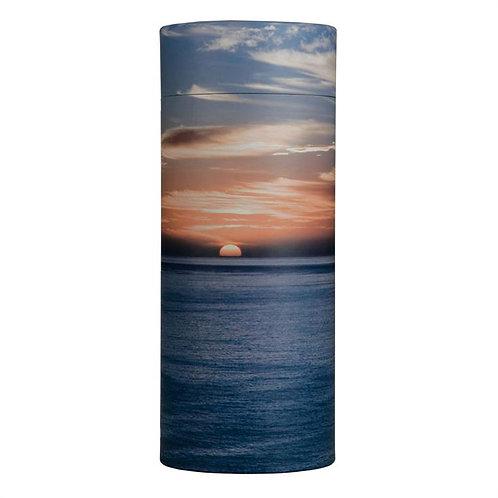 Ocean Sunset Scattering Tube