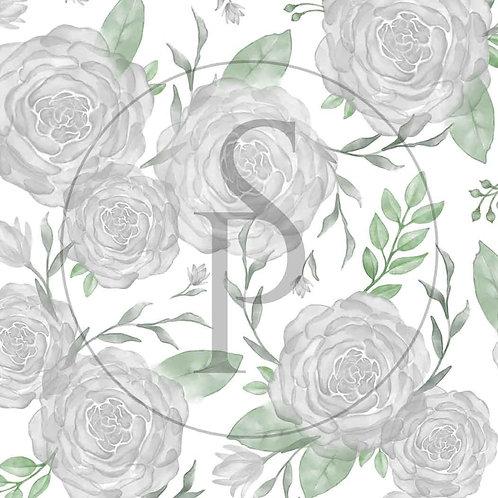 Róże akwarelowe - szare