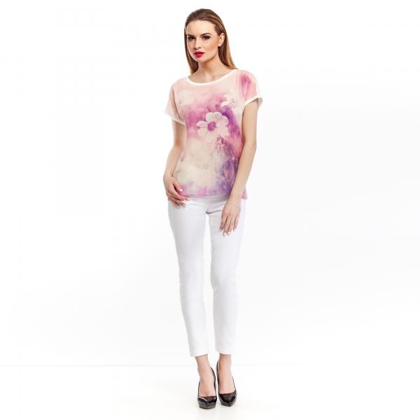 bluzka-z-laczonych-materialow-z-kwiecistym-nadrukiem-lososiowa (1)