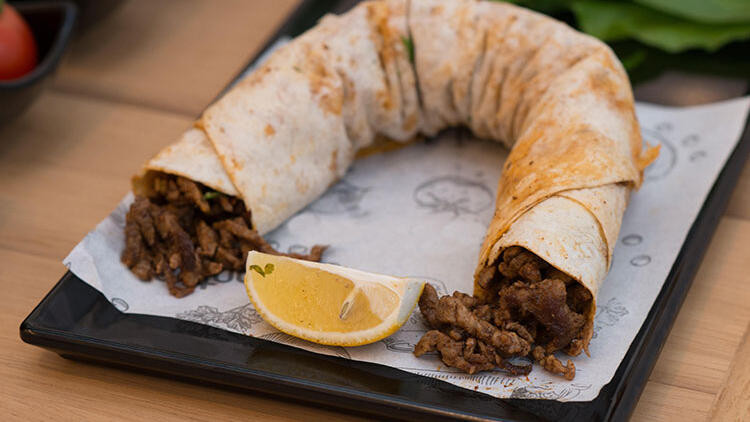 "Turkish people may consider this a ""traditional"" wrap, you'll be amazed at the novelty of flavors offered by this dish."