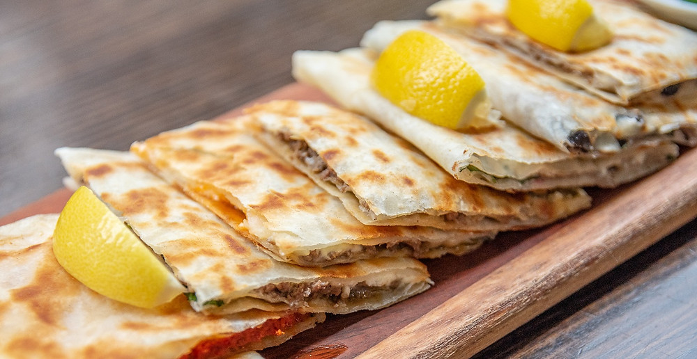 Gözleme is a savory Turkish quesadilla with lots of choices and variety