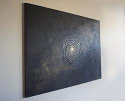 Acrylic & Spray Paint on Canvas