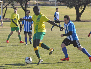 Top of table clash in B-Grade