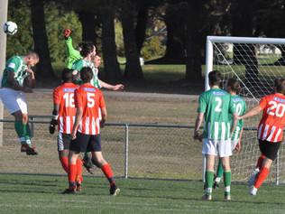 Barnies A-Grade derby points to tight season ahead